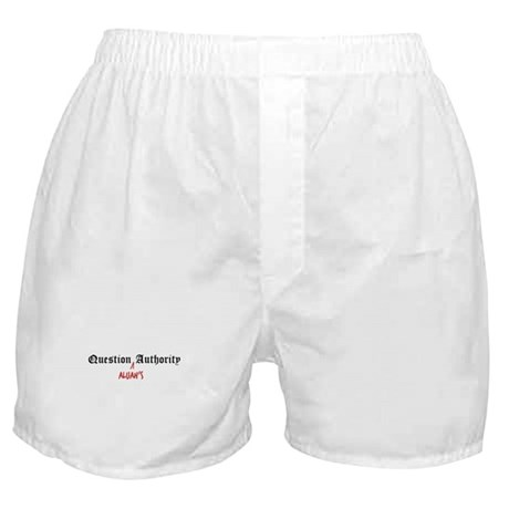 Question Alijah Authority Boxer Shorts
