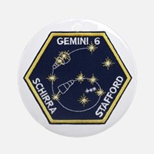 Gemini 6-Go Blue! Ornament (Round)