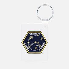 Gemini 6-Go Blue! Keychains