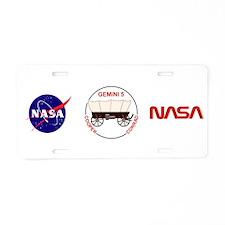 Gemini 5-Cooper/Conrad Aluminum License Plate