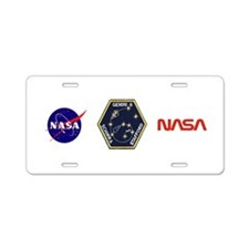 Gemini 6-Go Blue! Aluminum License Plate