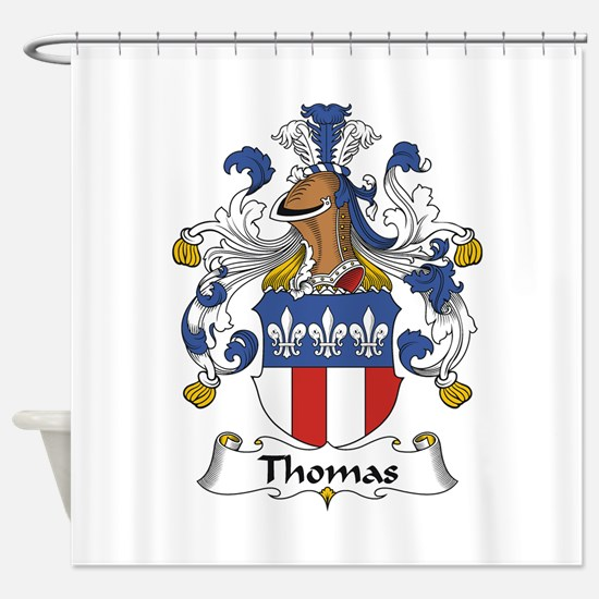 Thomas Shower Curtain