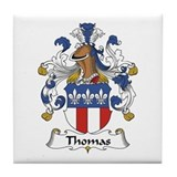 Thomas family crest Drink Coasters