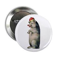 "Pig King 2.25"" Button"