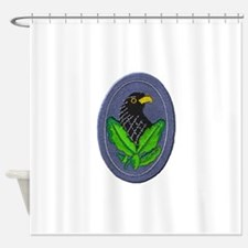 German Sniper Emblem Shower Curtain