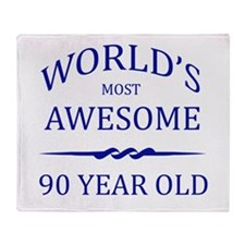 World's Most Awesome 90 Year Old Throw Blanket