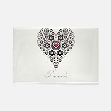 Love Toni Rectangle Magnet