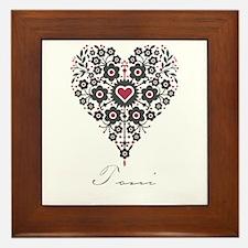 Love Toni Framed Tile