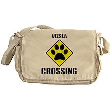Vizsla Crossing Messenger Bag