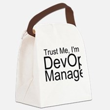 Trust Me, I'm A DevOps Manager Canvas Lunch Ba
