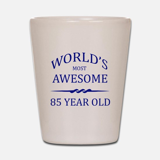World's Most Awesome 85 Year Old Shot Glass