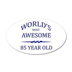 World's Most Awesome 85 Year Old Wall Decal