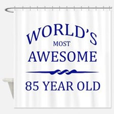 World's Most Awesome 85 Year Old Shower Curtain