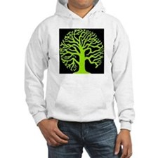 tree of life black 12 in..PNG Hoodie