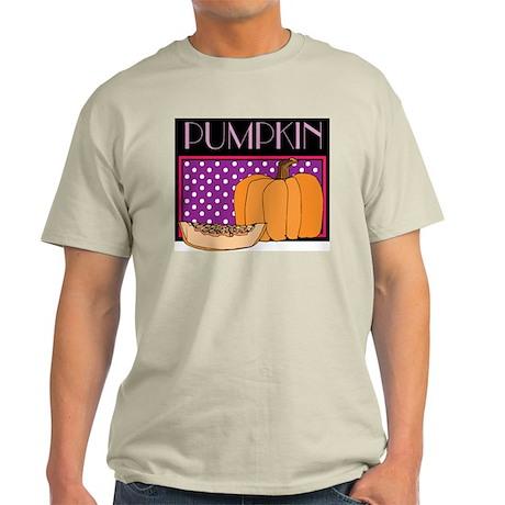 Thanksgiving Pumpkin Ash Grey T-Shirt