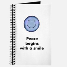 Peace begins with a smile Journal