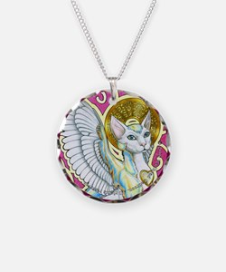 Angels Walk on 4 Paws Necklace
