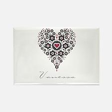 Love Vanessa Rectangle Magnet