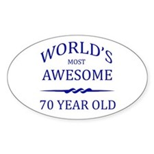 World's Most Awesome 75 Year Old Decal