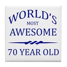 World's Most Awesome 75 Year Old Tile Coaster