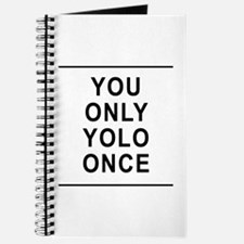 You Only Yolo Once Journal