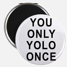 You Only Yolo Once Magnet