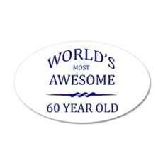 World's Most Awesome 75 Year Old Wall Decal