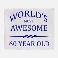 World's Most Awesome 75 Year Old Throw Blanket