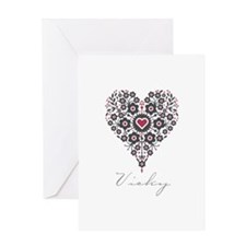 Love Vicky Greeting Card