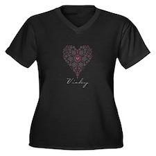 Love Vicky Plus Size T-Shirt