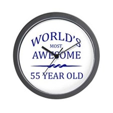 World's Most Awesome 55 Year Old Wall Clock