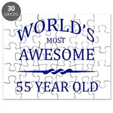 World's Most Awesome 55 Year Old Puzzle