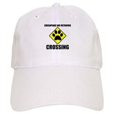 Chesapeake Bay Retriever Crossing Baseball Baseball Cap
