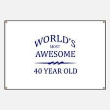 World's Most Awesome 50 Year Old Banner