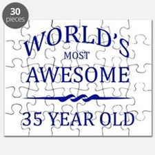 World's Most Awesome 35 Year Old Puzzle