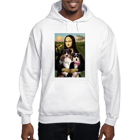 Mona's 2 Tri Aussies Hooded Sweatshirt
