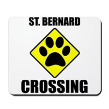 St. Bernard Crossing Mousepad