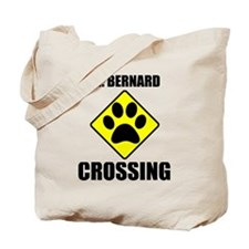 St. Bernard Crossing Tote Bag