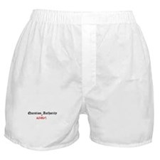 Question Alfonso Authority Boxer Shorts
