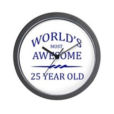 World's Most Awesome 25 Year Old Wall Clock