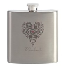 Love Violet Flask
