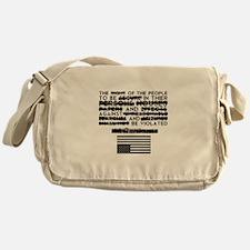 4th Amendment Messenger Bag