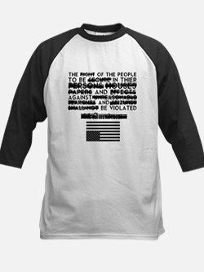 4th Amendment Baseball Jersey
