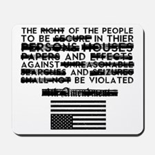 4th Amendment Mousepad