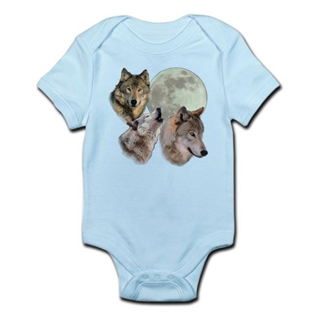 3 Wolf Moon Body Suit