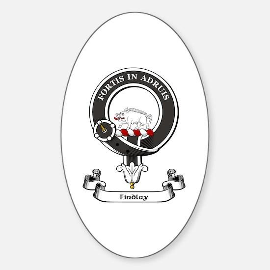 Badge-Findlay Sticker (Oval)