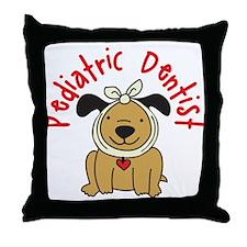 Pediatric Dentist Throw Pillow