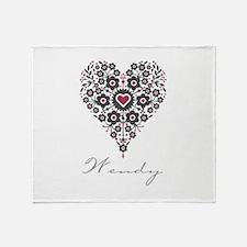Love Wendy Throw Blanket