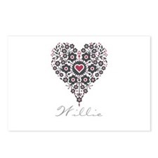 Love Willie Postcards (Package of 8)