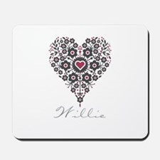 Love Willie Mousepad